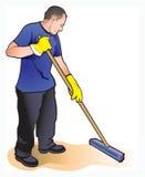Reinigungsmittel stock abbildung