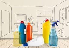 Reinigungsprodukt Stockfotos