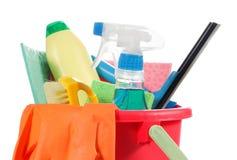 Reinigungsprodukte lizenzfreie stockfotografie