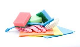 Reinigungsprodukte Lizenzfreies Stockbild