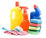Reinigungsprodukte Stockfotos