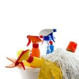Reinigungssatz lizenzfreie stockfotos