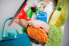Reinigungswerkzeuge Stockbilder