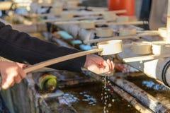 Reinigungszeremonie Stockfotos