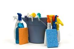 Reinigungszubehör Lizenzfreies Stockfoto