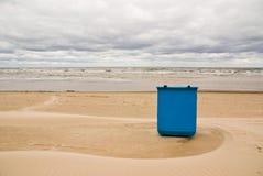 Reinlichkeit auf dem Strand Stockbilder