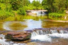 Reino da CACHOEIRA SIHANOUK VILLE Cambodia de KBAL CHHAY da maravilha Imagens de Stock Royalty Free