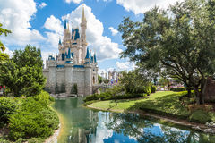 Reino da mágica de Disney Fotografia de Stock Royalty Free