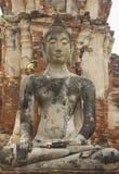 Reino de Ayutthaya o local do patrimônio mundial de Tailândia Imagens de Stock