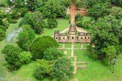 Reino de Byon Tample Angkor Wat Siem Reap cambodia do tample da senhora do templo doze de Phoun dos vagabundos do terraço do elef Foto de Stock Royalty Free