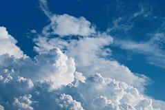 Reino de céu (cúmulo-nimbo) fotografia de stock royalty free