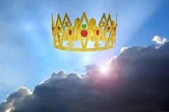 Reino de los cielos fotografía de archivo