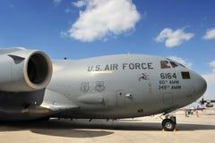 Reino do â janeiro 21 de Barém: C-17 de BOEING fotografia de stock