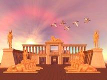 Reino egipcio 01 Foto de archivo libre de regalías