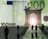 Reino euro Foto de archivo libre de regalías
