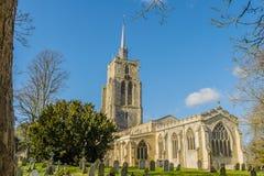 Reino Unido - Ashwell foto de archivo libre de regalías
