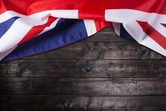 Reino Unido, bandeira britânica, Union Jack Fotografia de Stock