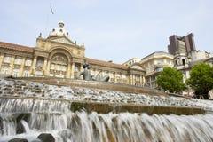 Reino Unido, Birmingham, cidade salão Fotos de Stock Royalty Free