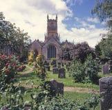 Reino Unido, Cotswolds, Cirencester, la iglesia de la abadía Imagen de archivo libre de regalías