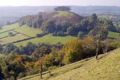 Reino Unido, Cotswolds, enterro de Uley imagens de stock royalty free