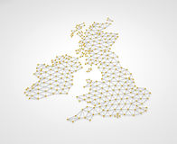 Reino Unido 3D Fotos de archivo