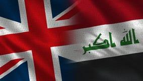Reino Unido e Iraq fotos de archivo