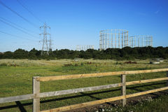 Reino Unido, infraestrutura, eletricidade e gás Imagem de Stock