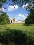 Reino Unido, Inglaterra, Cambridgeshire, Cambridge Fotografía de archivo libre de regalías