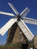 Reino Unido, Inglaterra, Derbyshire, molino de viento de Heage Imágenes de archivo libres de regalías