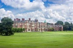 Reino Unido, Norfolk, Sandringham, 2016, junho, 15: A residência do ` s da rainha, fotos de stock royalty free
