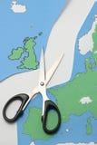 Reino Unido sae da União Europeia Imagens de Stock