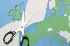 Reino Unido sae da União Europeia Imagens de Stock Royalty Free