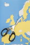 Reino Unido sae da União Europeia Fotografia de Stock Royalty Free