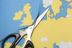 Reino Unido sae da União Europeia Imagem de Stock