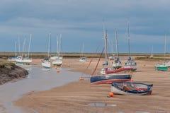 Reino Unido - Wells después el mar Imagenes de archivo