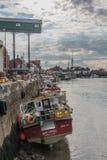 Reino Unido - Wells después el mar Fotos de archivo libres de regalías