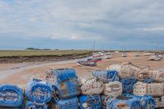 Reino Unido - Wells em seguida o mar fotografia de stock royalty free