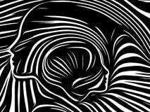 Reinos de líneas internas ilustración del vector
