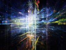 Reinos de la abstracción urbana fotografía de archivo