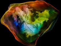 Reinos de la partícula de la mente ilustración del vector