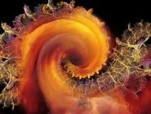 Reinos del modelo espiral Fotos de archivo