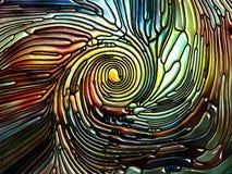Reinos del vidrio iridiscente libre illustration