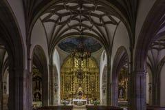 Reinosa church stock photography