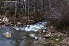 Reinosa, Wasserfall Lizenzfreies Stockbild