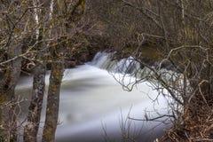 Reinosa, Wasserfall Stockfotos