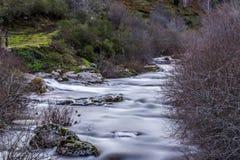 Reinosa, Wasserfall Lizenzfreies Stockfoto