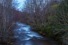 Reinosa, Wasserfall Lizenzfreie Stockfotos