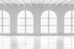 Reinrauminnenraum, Modell des offenen Raumes Lizenzfreie Stockfotos