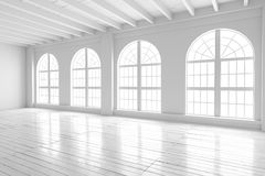 Reinrauminnenraum, Modell des offenen Raumes Stockfotografie