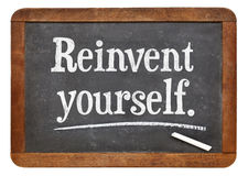 Reinvent yourself Stock Photography